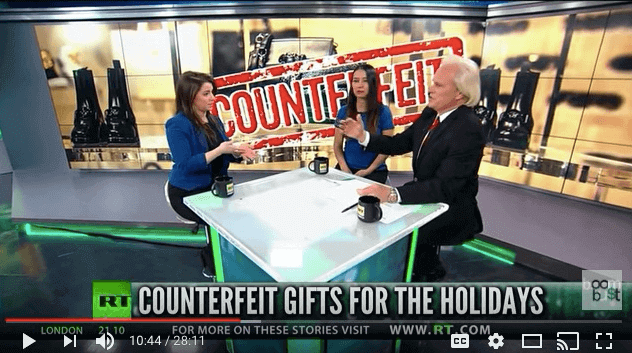 IACC Highlights Counterfeiting Problem on LIVE TV