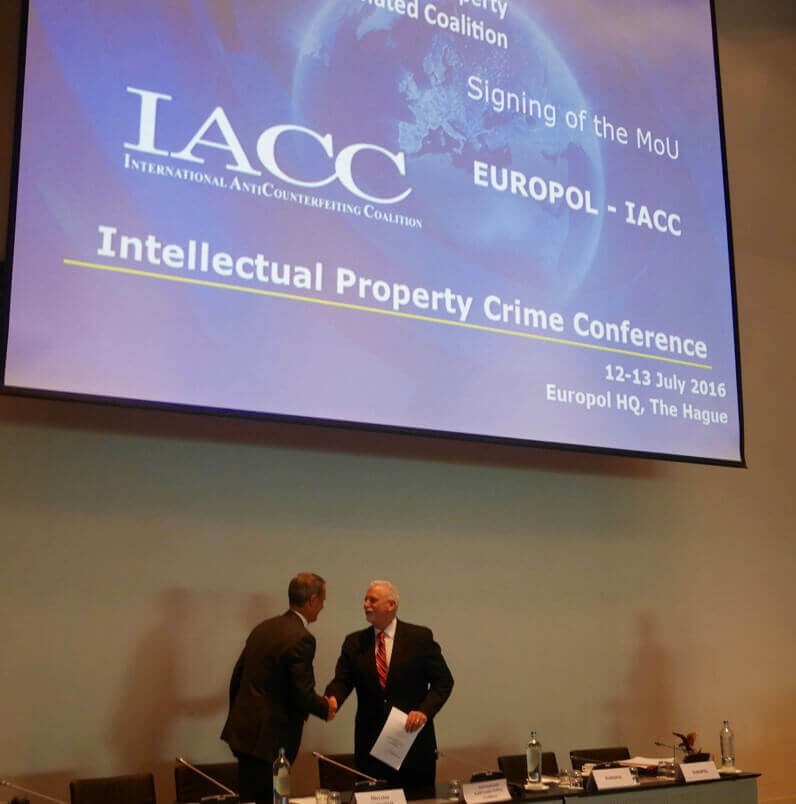 IACC Applauds Europol on the Launch of IP Crime Coordinated Coalition (IPC3)
