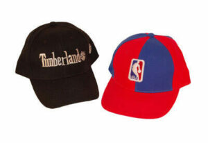 Timberland and NBA Hat